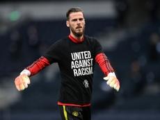 Solskjaer hails under-fire De Gea as 'world's best' goalkeeper. AFP