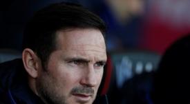 Lampard évoque l'avenir de Giroud. AFP