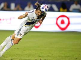 LA Galaxy confirmed that Ibrahimovic will extend his stay stateside. AFP