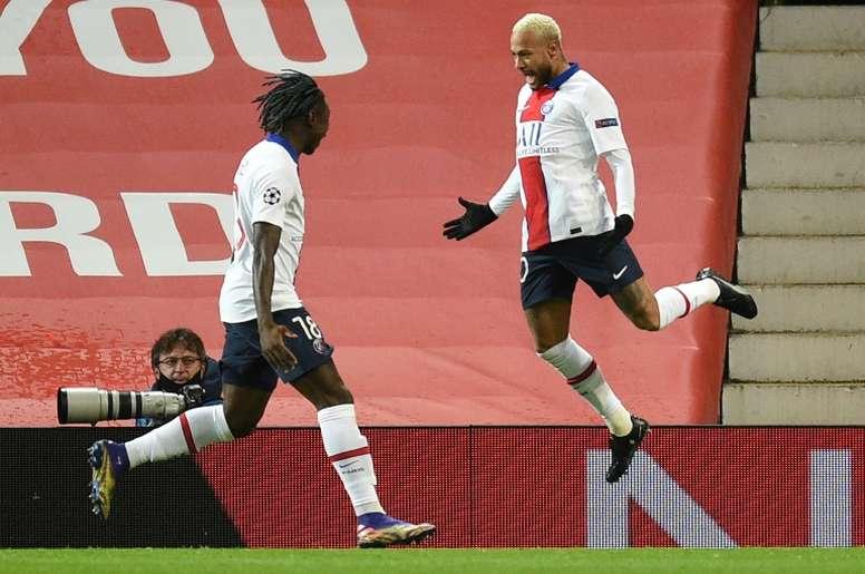 PSG beat United. AFP