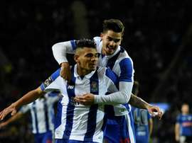 Soares scored twice to propel Porto to victory. AFP
