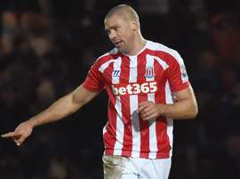 Jonathan Walters is out for six months. AFP