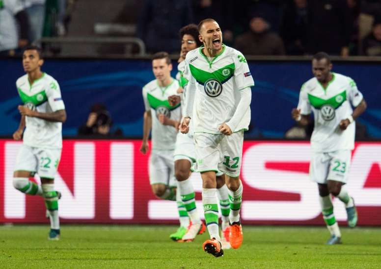 VfL Wolfsburg Dutch forward Bas Dost said that he hopes to be in the Portuguese league soon. AFP