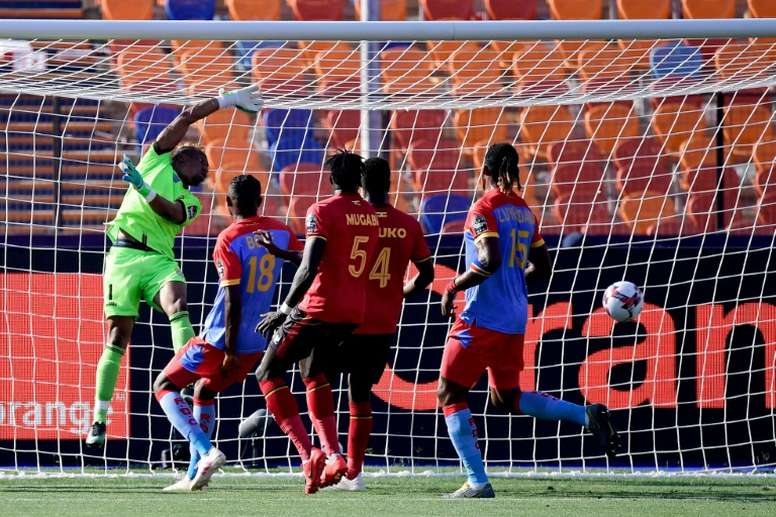 DR Congo were upset by Uganda in their opener. AFP