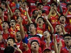 Campeonato chinês alvo de uma investigação por parte da AFC. AFP