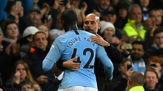 Toure only made ten appearances for Man City last season. AFP