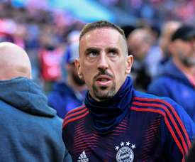 Franck Ribery is unlikely to feature for Bayern this weekend. AFP