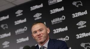 Rooney commence par une défaite. AFP