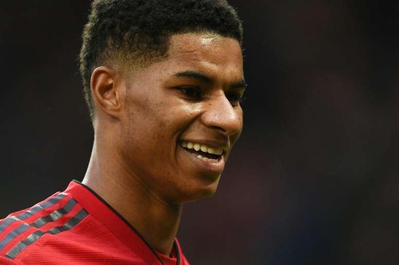 Rashford can be as good as Kane, says Man Utd boss Solskjaer
