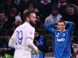 Prováveis escalações de Juventus e Lyon. AFP
