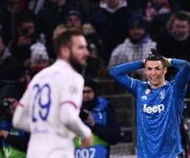 Sigue el directo del Juventus-Olympique de Lyon. AFP