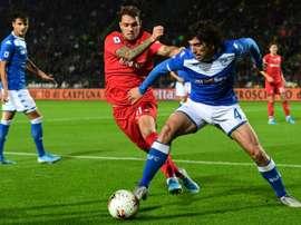 Brescia deixará Tonali escolher seu destino. AFP