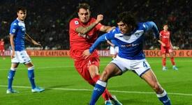 Sandro Tonali está siendo una de las sensaciones de la temporada en el Brescia. AFP