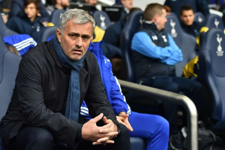 Mourinho in his second spell at Chelsea. AFP