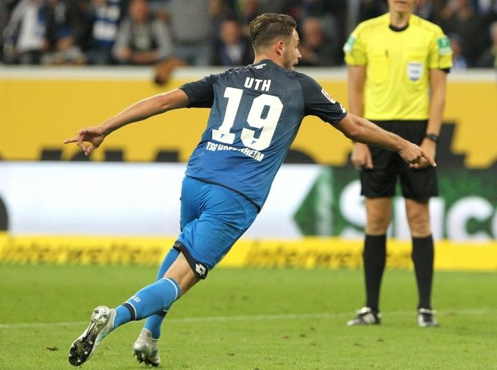 Mark Uth vuelve al Köln. AFP/Archivo