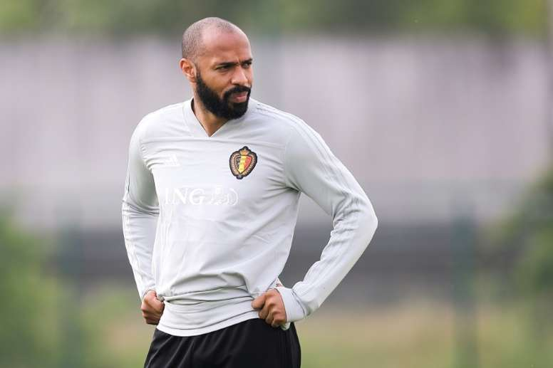 Thierry Henry could be given his first chance in management. AFP