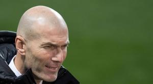 Zidane, l'entraîneur qui fait le moins de changements en Liga. AFP