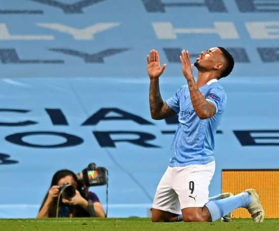 Gabriel Jesus says Man City have learnt from their Champions League exits. AFP