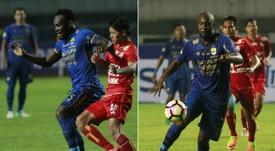 Persib Bandung ainda não efetuou o pedido para a obtenção dos documentos dos atletas. AFP