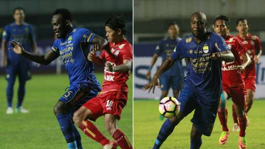 Michael Essien and Carlton Cole have both joined Persib Bandung.