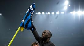 Inter star Lukaku was 'really close' to Juventus move. AFP