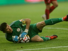 Renhes played three goalies and their first choice keeper, Zhang Lie, was not one of them. AFP