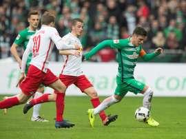 Leipzig lost 3-0 at Werder Bremen.