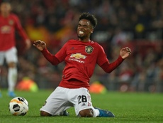Angel Gomes set to leave Man Utd as contract runs out. AFP