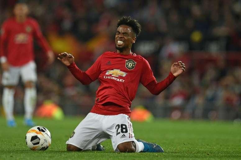 Angel Gomes não continuará no Manchester United. AFP