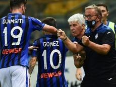 Gomez winner pulls Atalanta second in Serie A. AFP