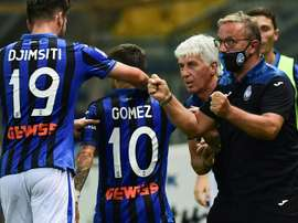 Gomez winner pulls Atalanta second in Serie A. AFP