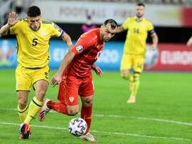 Georgia and North Macedonia in sight of Euro 2020 berth. AFP