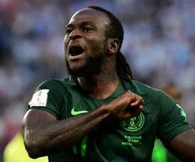 Moses, prêté à Fenerbahçe. AFP
