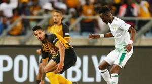 Bloemfontein Celtic (in white) beat Baroka in the Nedbank Cup semi-final. AFP