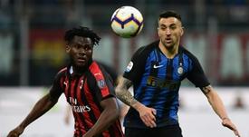 Conte pide al Inter el fichaje del 'rossonero' Kessié. AFP