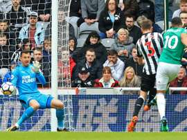 Benitez wants Dubravka to stay at Newcastle. AFP