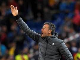 Luis Enrique will not carry on as Spain manager. AFP