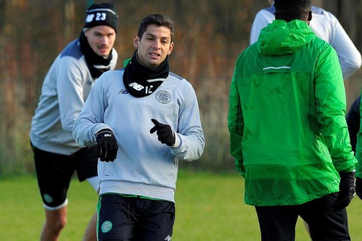 Cristian Gamboa fue operado quirúrjicamente de una lesión en el codo. AFP