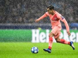 Coutinho poderá ser o substituto de Hazard no Chelsea. AFP
