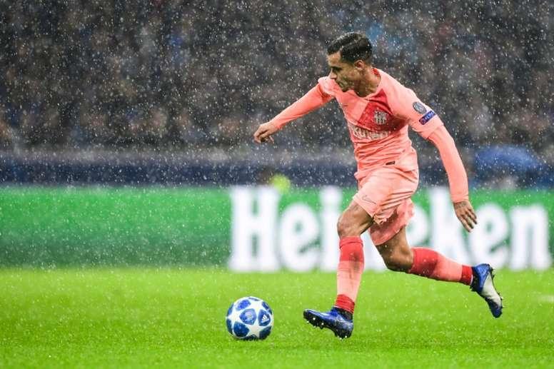 Coutinho suena para jugar en la Bundesliga. AFP
