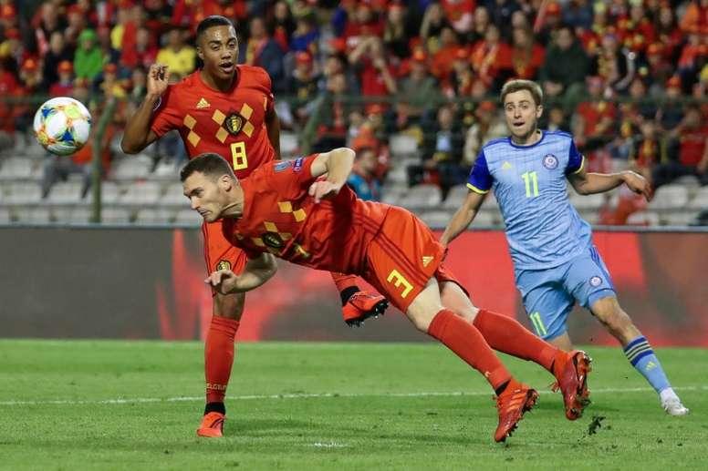 Vermaelen has signed for Japanese side VIssel Kobe. AFP