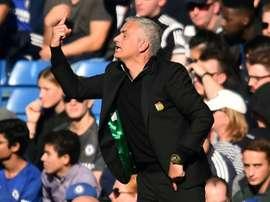 Jose Mourinho Manchester United'. AFP