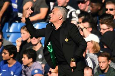 Neville claims Mourinho is sometimes too cavalier away from home. AFP