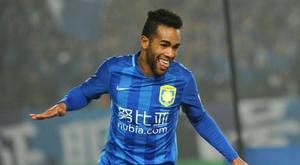Teixeira se estrenó esta temporada. AFP