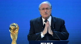 The World Cup will be held in Qatar. AFP