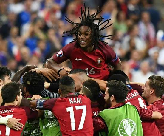 Renate Sanches é uma das grandes ausências de Portugal para o Mundial. AFP