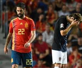 Isco scored the final goal as Croatia were humbled by an impressive Spain. GOAL