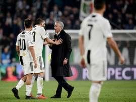Dybala revient sur son échange avec Mourinho. AFP
