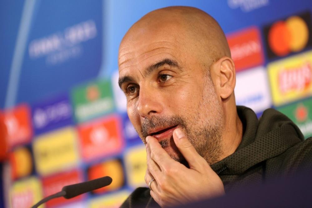 Guardiola espera que el City aprenda de sus errores y firme una gran Champions este año. AFP