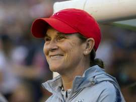 Jill Ellis would like to try her hand coaching a men's team. AFP